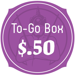 To Go Boxes - $.50