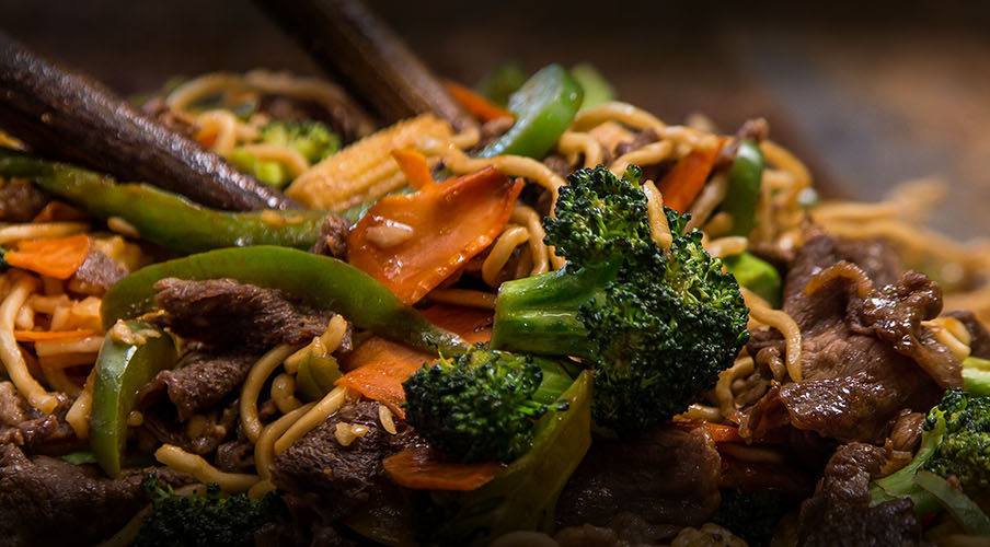 photo relating to Genghis Grill Printable Coupon named YCs Mongolian Grill Balanced, Do-It-Oneself Stir Fry
